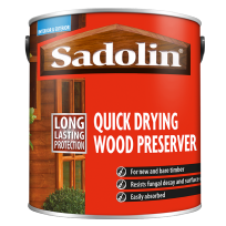 Quick Drying Wood Preserver